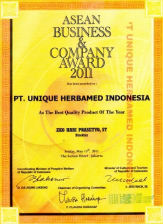 Penghargaan Herbamed